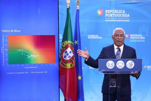 António Costa em conferência de imprensa em Lisboa, 2/7/2021 (ANTÓNIO PEDRO SANTOS/LUSA)
