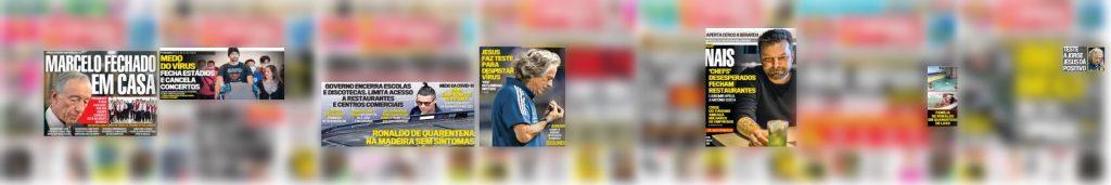 O Correio da Manhã foi o jornal que mais fez uso de imagens personalizadas na figuração da pandemia, utilizando-as em todos os quadros analisados com recurso a imagem.