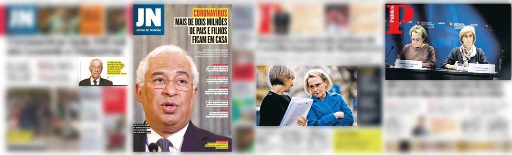 O JN e o Público recorreram à personalização a partir de imagens de atores políticos.
