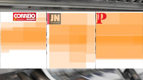 Área ocupada ('heatmap') com notícias sobre Covid-19 na imprensa diária com edição em papel, entre 3 e 12 de março de 2020.