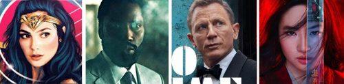 Alguns dos blockbusters mais aguardados de 2020. Todos, à excepção de Tennet, de Christopher Nolan, viram a sua data de estreia adiada